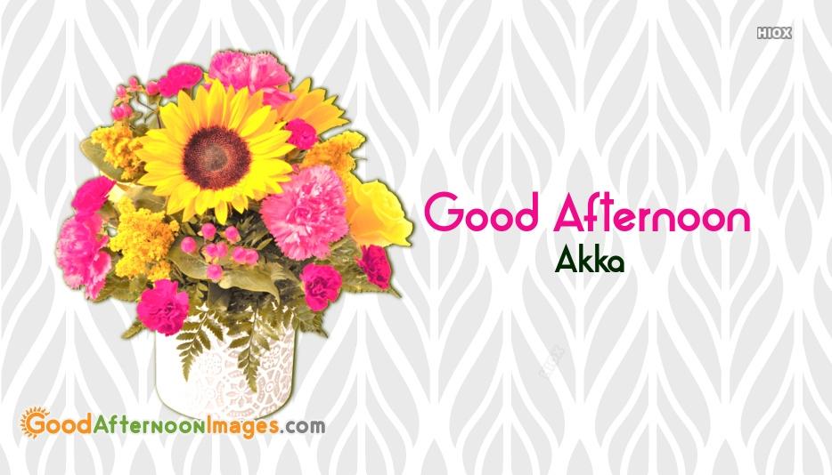 Good Afternoon Akka