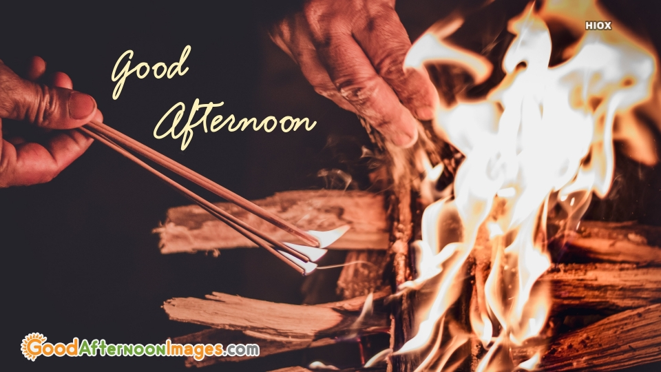 Spiritual Good Afternoon Wishes Image