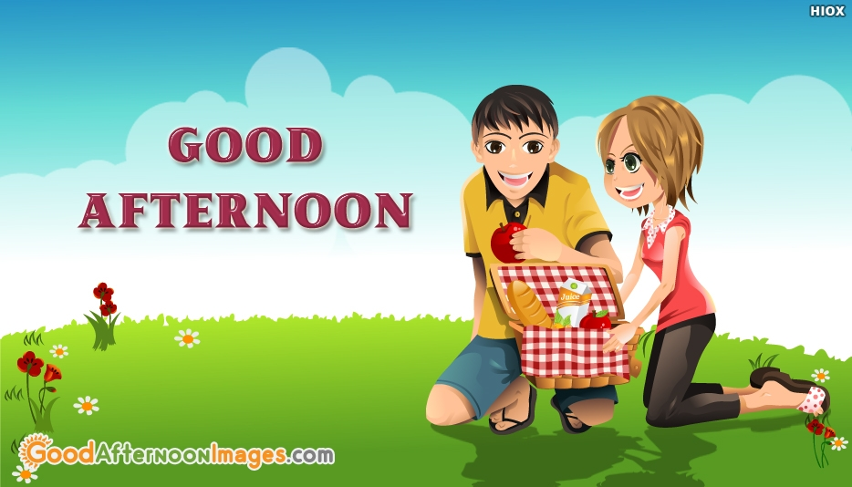 Good Afternoon Couple Image - Good Afternoon Images for Sweetheart