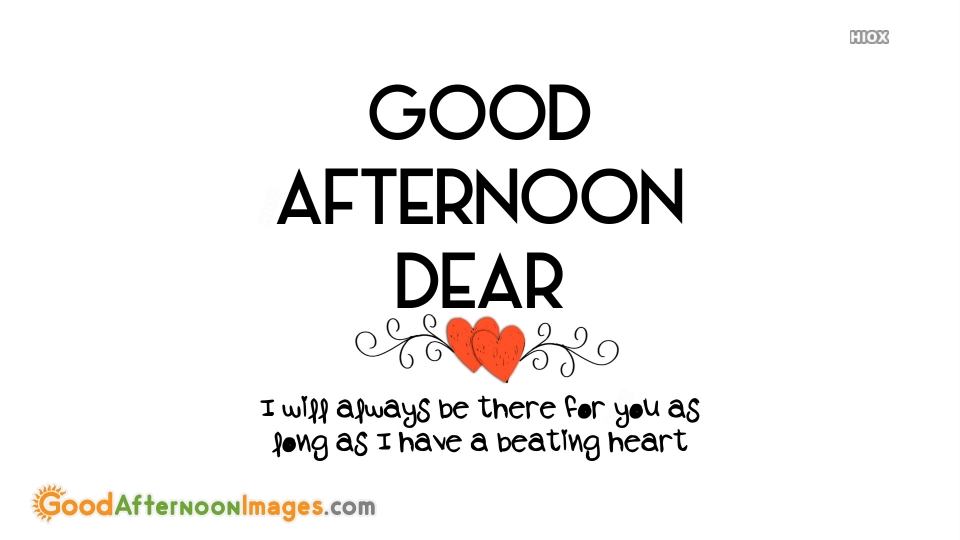 Sweet Good Afternoon Love Messages For Him or Her