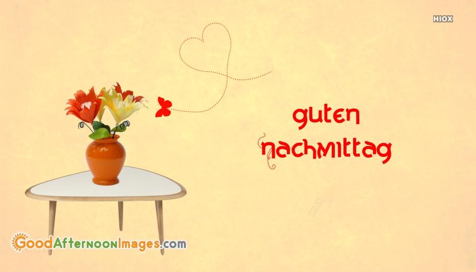 Good Afternoon German