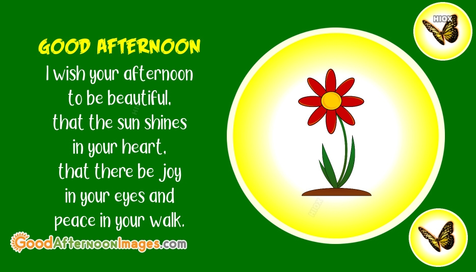 Good Afternoon Wishes Images, Pictures