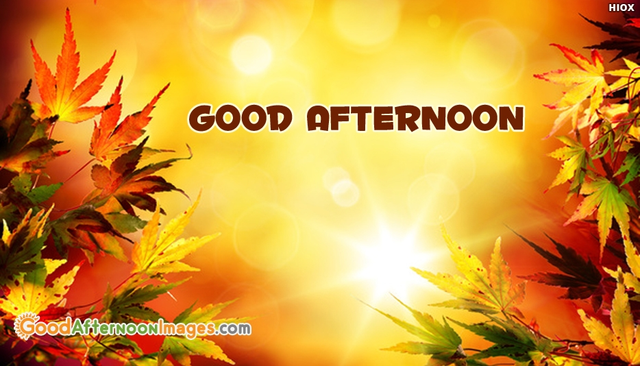 Good Afternoon HD Image