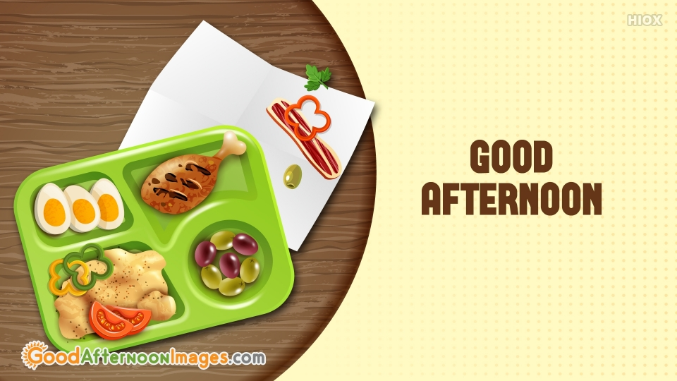 Afternoon Images for Food Items
