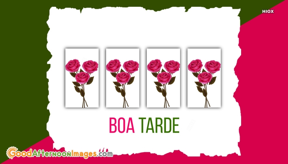 Good Afternoon In Portuguese | Boa Tarde