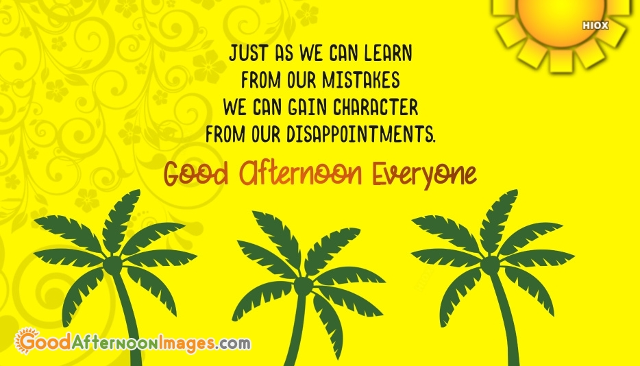 Good Afternoon Motivational Quotes