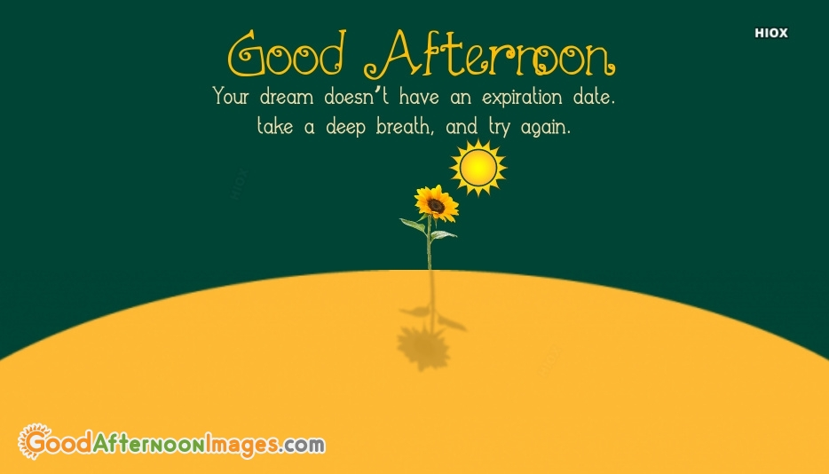 Good Afternoon Quotes About Dreams