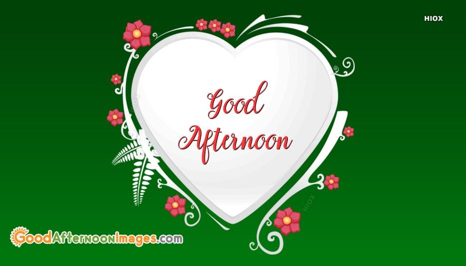 Good Afternoon Random