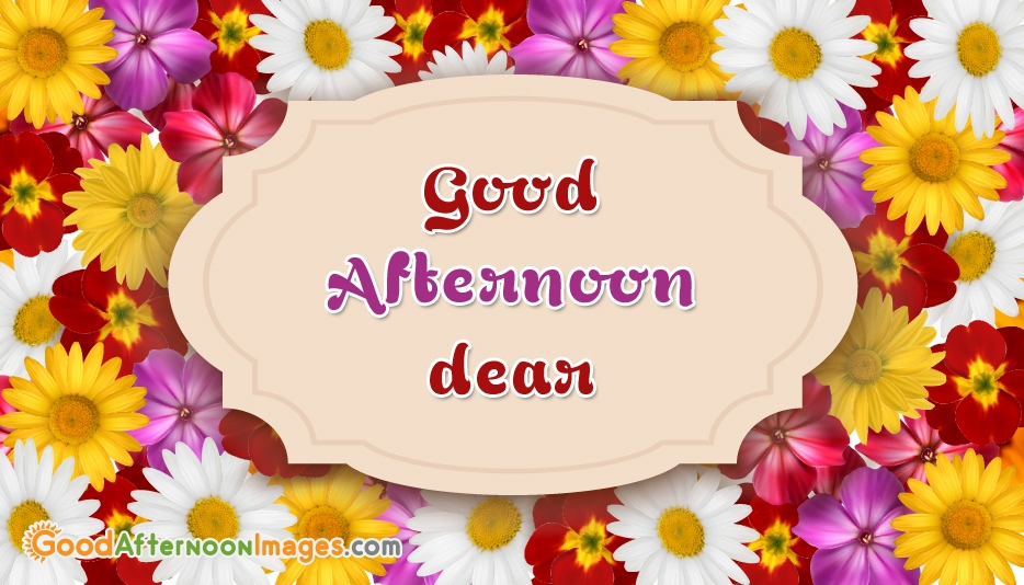Good Afternoon Wishes Images For Wife