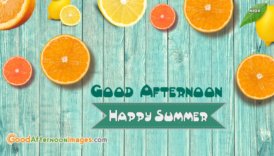 Good Afternoon Summer Image