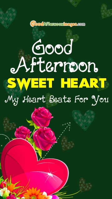 Good Afternoon Sweetheart Image