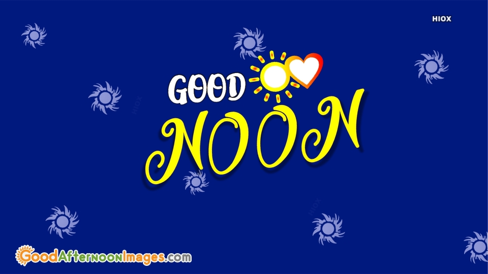 Lovely Good Afternoon Card