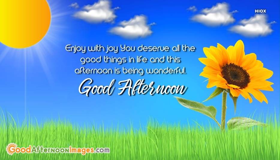 Good Afternoon Wishes For Someone Special