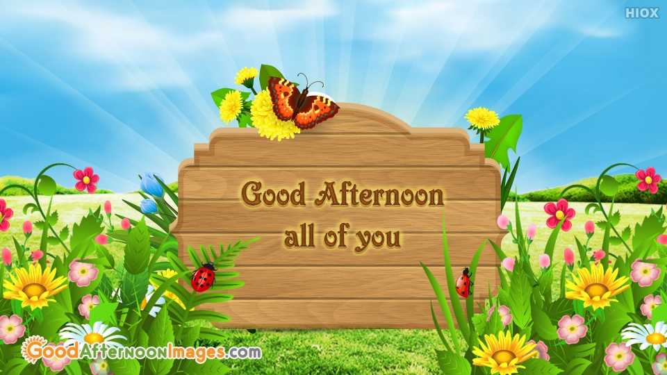 Gud Afternoon All Of You.