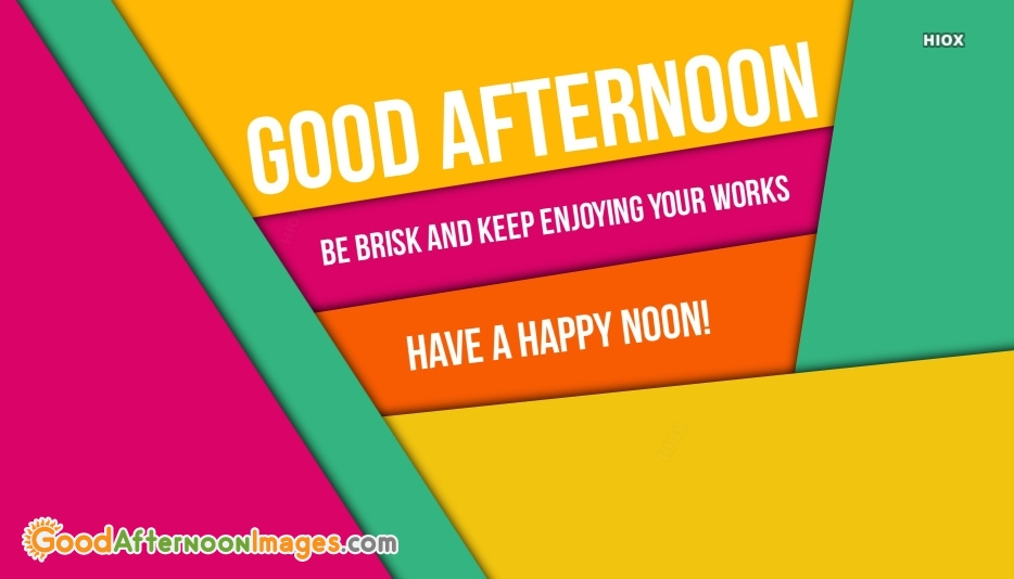 Have A Happy Noon Wishes