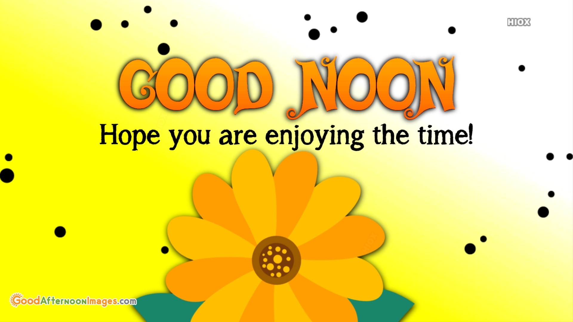 Hope You Are Enjoying The Time!