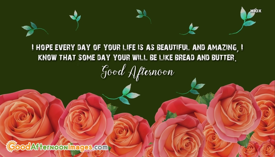 Afternoon Images for Best Wishes