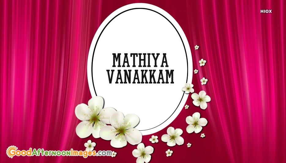 Mathiya Vanakkam Pic