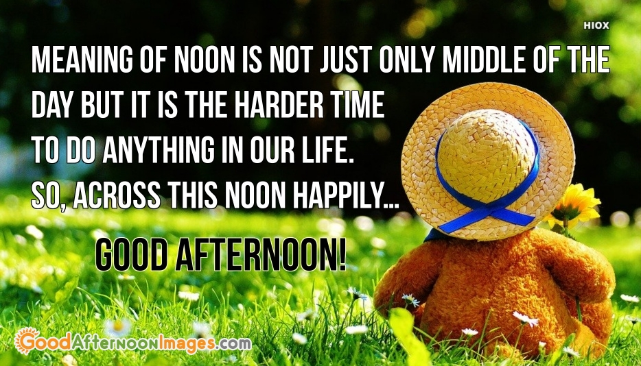 Meaning Of Noon Quotes