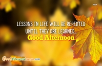 Good Afternoon Quotes And Image