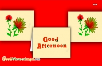 Beautiful Pictures Of Good Afternoon