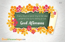 Good Afternoon Wishes With Quote | Just Stopping By To Wish You A Very Good Afternoon