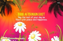 Good Afternoon Dost Message