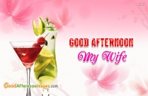 Good Afternoon SMS For Her