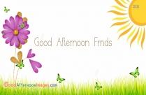 Good Afternoon Frnds