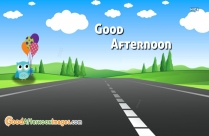 good afternoon greeting time