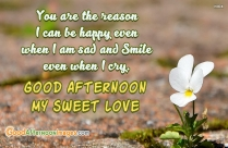Good Afternoon Love SMS For Girlfriend