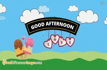 Good Afternoon Love Wallpaper
