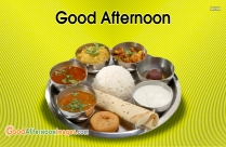 Good Afternoon Lunch Image