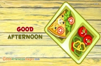 Tasty Good Afternoon Wishes Images