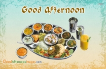 Good Afternoon Lunch Wallpaper
