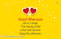 Life Is One Time Offer, Use It Well. Good Noon