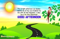 Good Afternoon Miss You Quotes