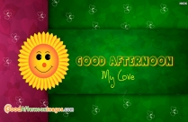 Good Afternoon My Love Message