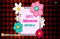 Good Afternoon Nephew