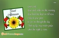 Good Afternoon Prayer