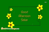 Good Afternoon Sister Gif