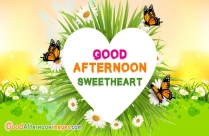 Good Afternoon Wishes Images For Lover