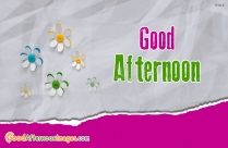 Good Afternoon SMS In English For