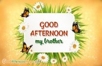 Good Afternoon Wishes For Brother