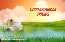 Good Afternoon Wishes Friends