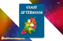 Good Afternoon Wishes Message