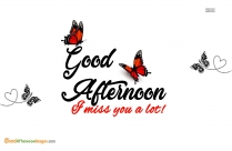 Good Afternoon My Girl Quotes