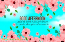 Good Afternoon Time Quotes