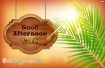 Good Afternoon Wishes Ecard