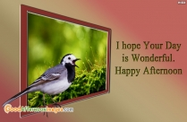 I Hope Your Day Is Wonderful
